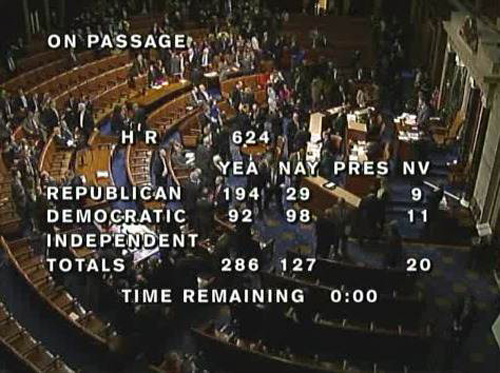CISPA passes House vote, faces Senate and possible veto