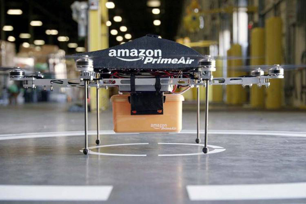 Amazon Testing Drones for Delivery