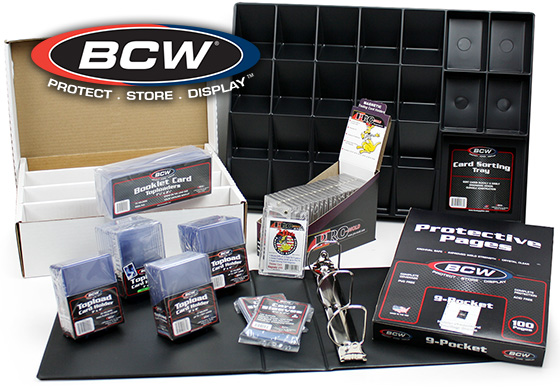 BCW Supplies & Accessories for Collectibles