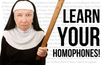 Learn Your Damn Homophones!