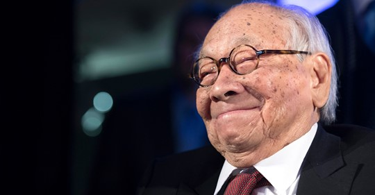 Acclaimed Architect, I.M. Pei, dies at 102