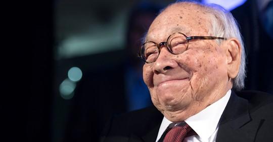 Acclaimed Architect, I.M. Pei, dies at 102