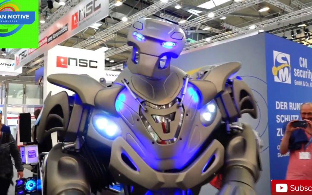 Dubai Police Robot 2019 Deccan Voices