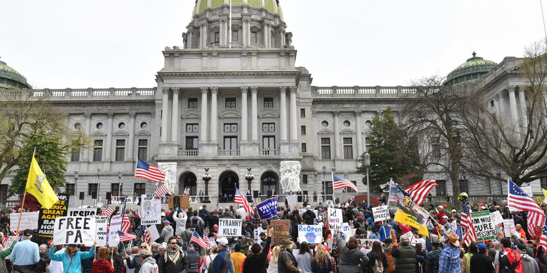 "Federal Judge Rules Pennsylvania Lockdown ""Unconstitutional"""